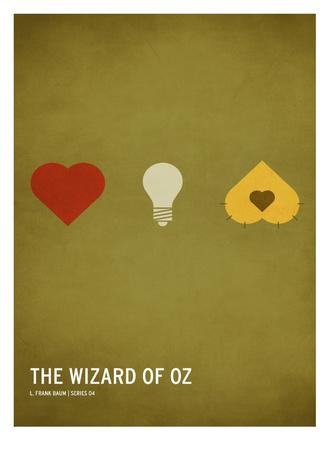 Wizard of Oz (kid version) Prints by Christian Jackson