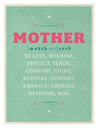 Def: Mother Posters by Maria Hernandez