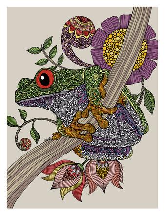 Phileus Frog Art by Valentina Ramos
