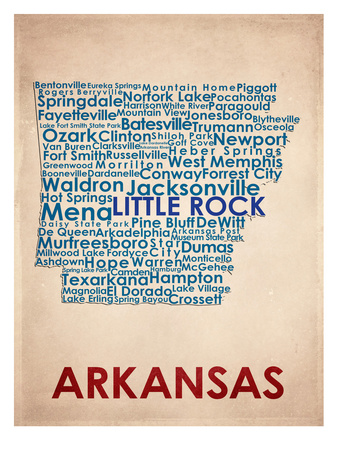 Arkansas Prints