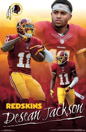 Washington Redskins - Desean Jackson 14 Poster