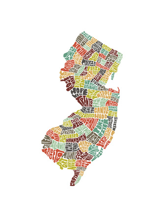 New Jersey (color) Prints