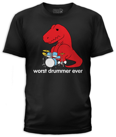 Worst Drummer (slim fit) T-Shirt