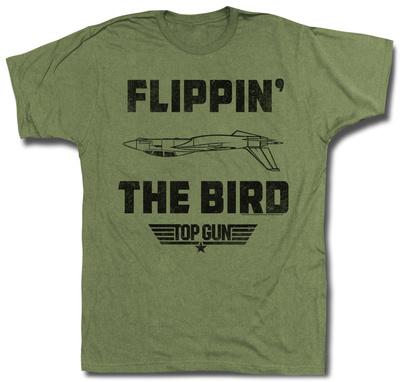 Top Gun - Da Bird T-shirts