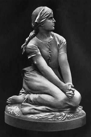 A Statue of Joan of Arc Photographic Print