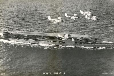 Furious' Aircraft Carr. Photographic Print