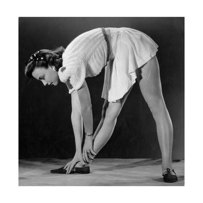 Waistline Exercises Photographic Print