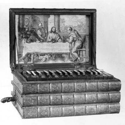Miniature Bible Organ Photographic Print