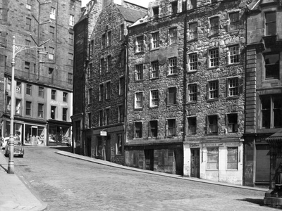 Scotland, Edinburgh Fotografisk tryk
