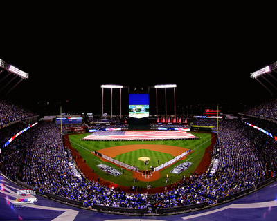 Kauffman Stadium Game 1 of the 2014 World Series Photo