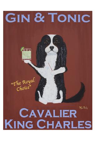 Cavalier Gin & Tonic Stampa da collezione di Ken Bailey