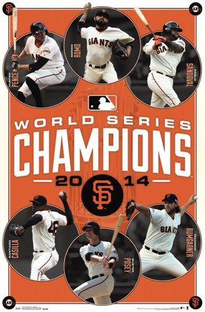 San Francisco Giants - 2014 World Series Champions Posters