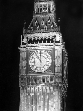 Big Ben at Night Photographic Print by Fred Musto