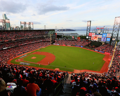 AT&T Park Game 3 of the 2014 World Series Photo