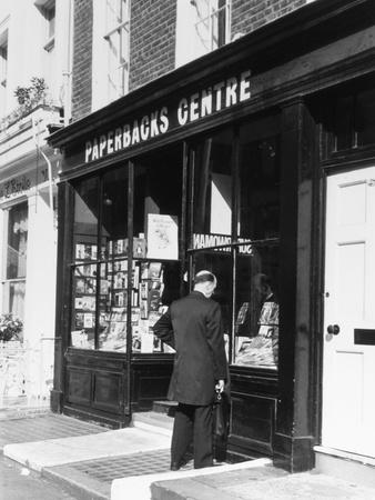 Bookshop Window Photographic Print by Gill Emberton