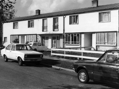 Council Houses Photographic Print by Gill Emberton