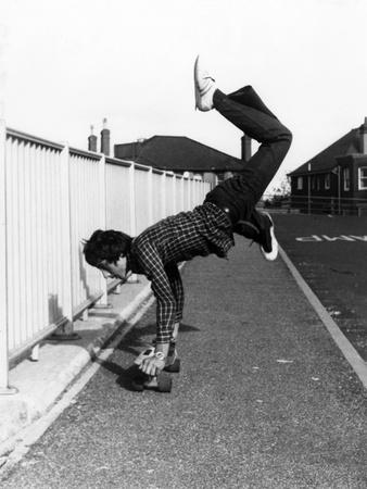 Tricks on Skateboard Photographic Print by Gill Emberton