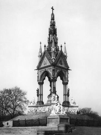 Albert Memorial Photographic Print by Gill Emberton
