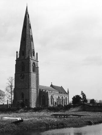 Olney Parish Church Photographic Print by Gill Emberton