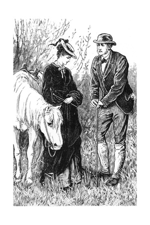 Thomas Hardy's 'Far from the Madding Crowd' Giclee Print by H. Paterson