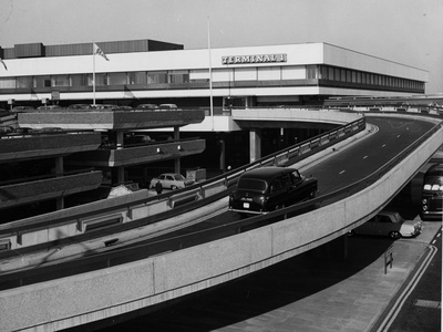 London Heathrow Car Park Photographic Print by Gill Emberton