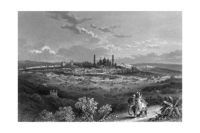 India Delhi Giclee Print by J Ramage