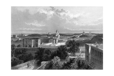 India, Lucknow Giclee Print by J Ramage