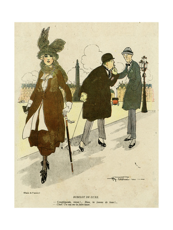 Comic Sex, Running Costs Premium Giclee Print by Henry Fournier