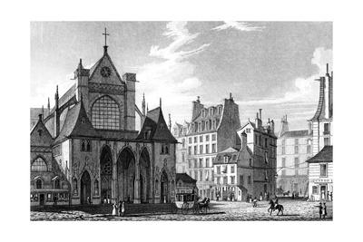 Paris, France - Eglise Saint Germain L'Auxerrois Giclee Print by J. Redaway