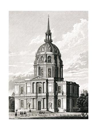 Paris, France - Chapelle Des Invalides Premium Giclee Print by J. Tingle