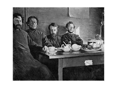 Tolstoy's Eldest Son Premium Giclee Print by Kenyon Cox