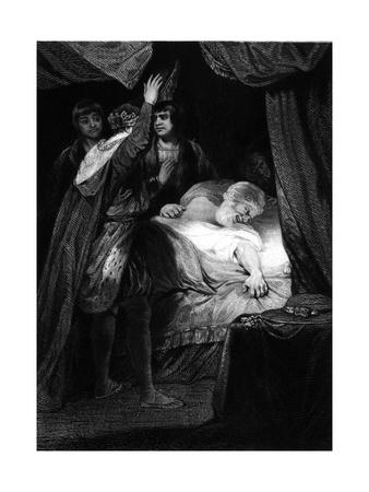 Henry Beaufort 1377-1447 Premium Giclee Print by S.w. Reynolds