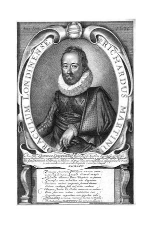 Richard Martin Giclee Print by Simon de Passe