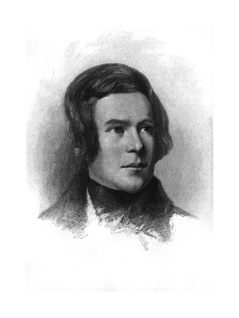 Robert Schumann Premium Giclee Print by T. Johnson