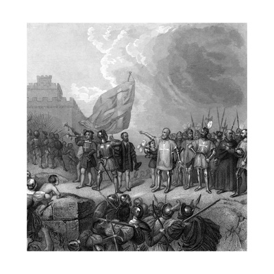 Crusades, Malta Relieved Giclee Print