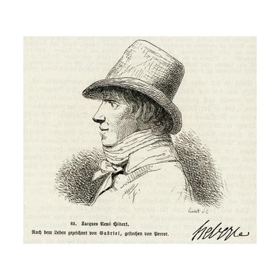 Jacques-Rene Hebert, Span Giclee Print