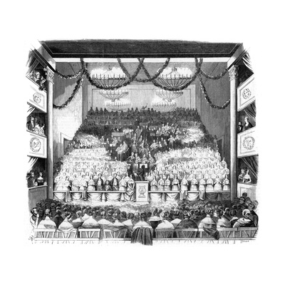 A Concert at Aachen, Germany Giclee Print