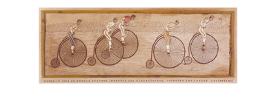 Penny Farthing Race Giclee Print