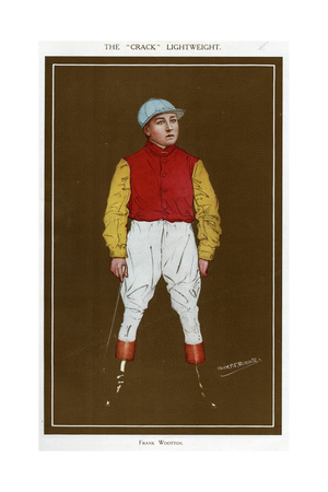 Jockey, Frank Wootton Giclee Print by Alick P.f. Ritchie