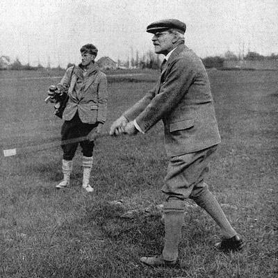 Ramsay Macdonald Golf Photographic Print