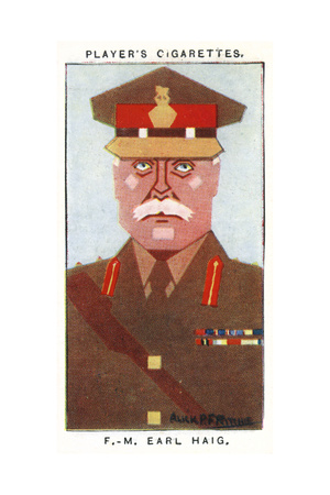 Field Marshal Douglas Haig - Senior British Military Officer Giclee Print by Alick P.f. Ritchie