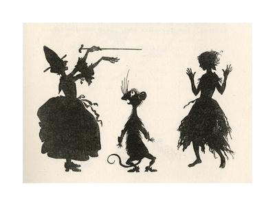 Cinderella Premium Giclee Print by Arthur Rackham