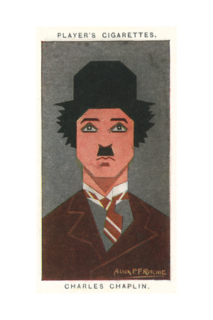 Charlie Chaplin - English Comic Actor Giclee Print by Alick P.f. Ritchie
