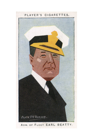 Admiral of the Fleetst Earl Beatty Giclee Print by Alick P.f. Ritchie