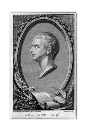 Edward Capell Giclee Print by Anker Smith