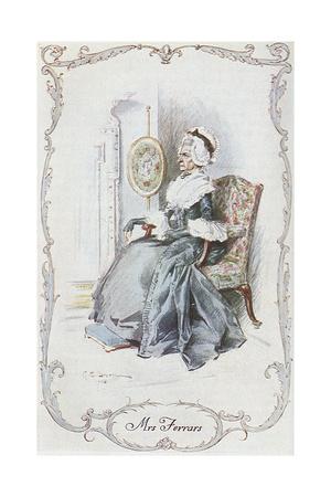 Sense and Sensibility Giclee Print by C.e. Brock