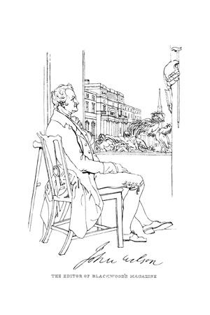 John Wilson Giclee Print by Daniel Maclise