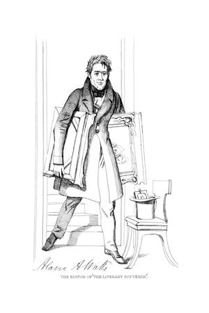 Alaric Alex. Watts Giclee Print by Daniel Maclise