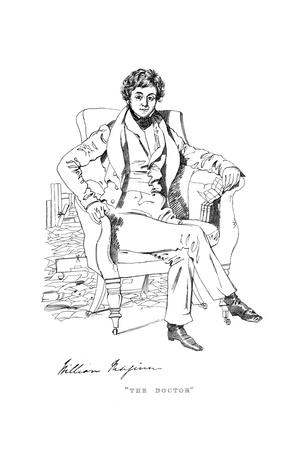 William Maginn Giclee Print by Daniel Maclise