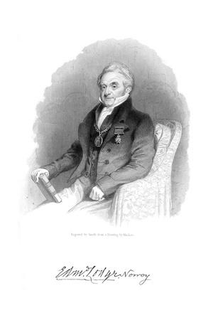 Edmund Lodge Giclee Print by Daniel Maclise
